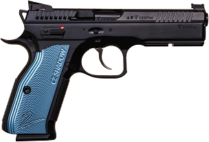 CZ-USA SHADOW 2 BLACK & BLUE 9MM