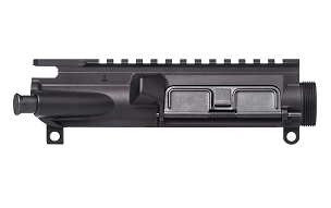 Aero Precision AR-15 Assembled Upper Receiver w/ Flag Etching - Anodized Black