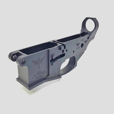 ZRTS Billet Stripped AR-15 Lower Receiver - Anodized Black